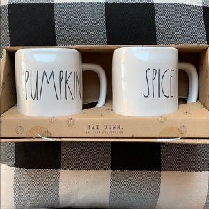 Pumpkin Spice Mug Set